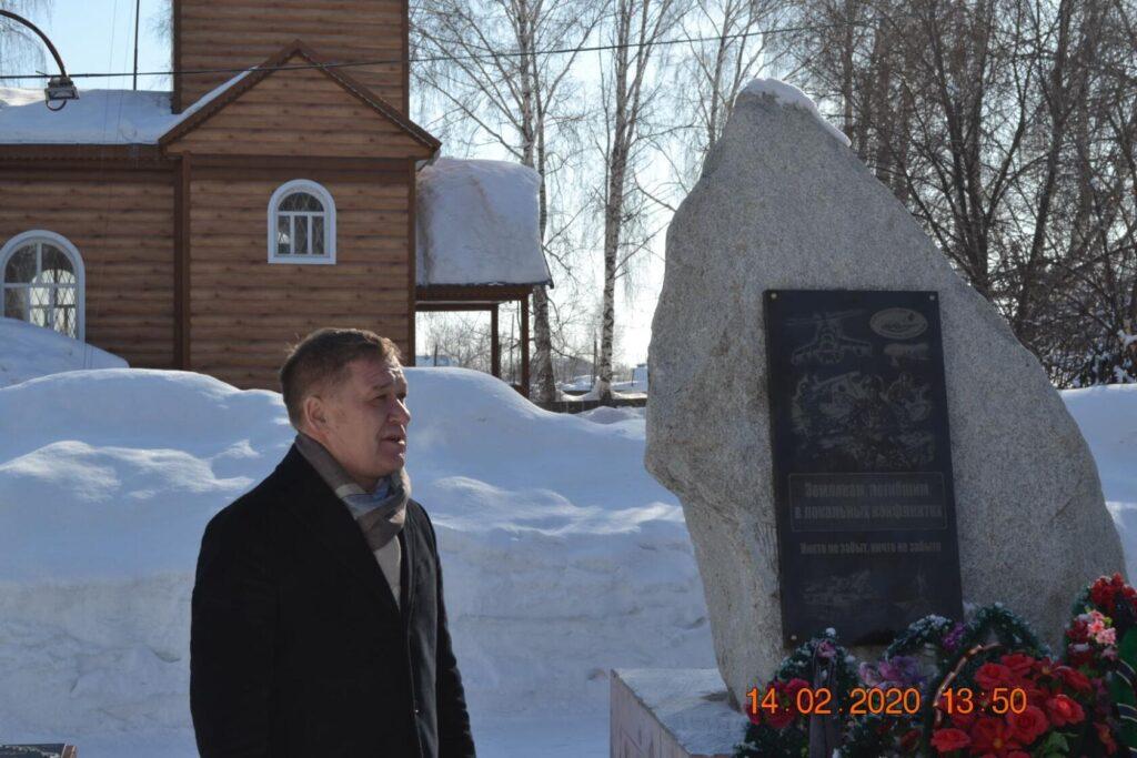 """В красногорском районе прошёл торжественный концерт """"Солдат войны не выбирает..."""""""